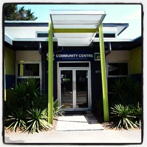Yes, this is the Community Centre in Neighbours. Yes, we did go on the set tour. Yes, it is as underwhelming as you'd expect if you haven't seen the show in 15 years.